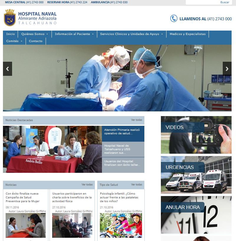 foto sitio web