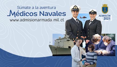 Postulacion Medicos Navales 2021